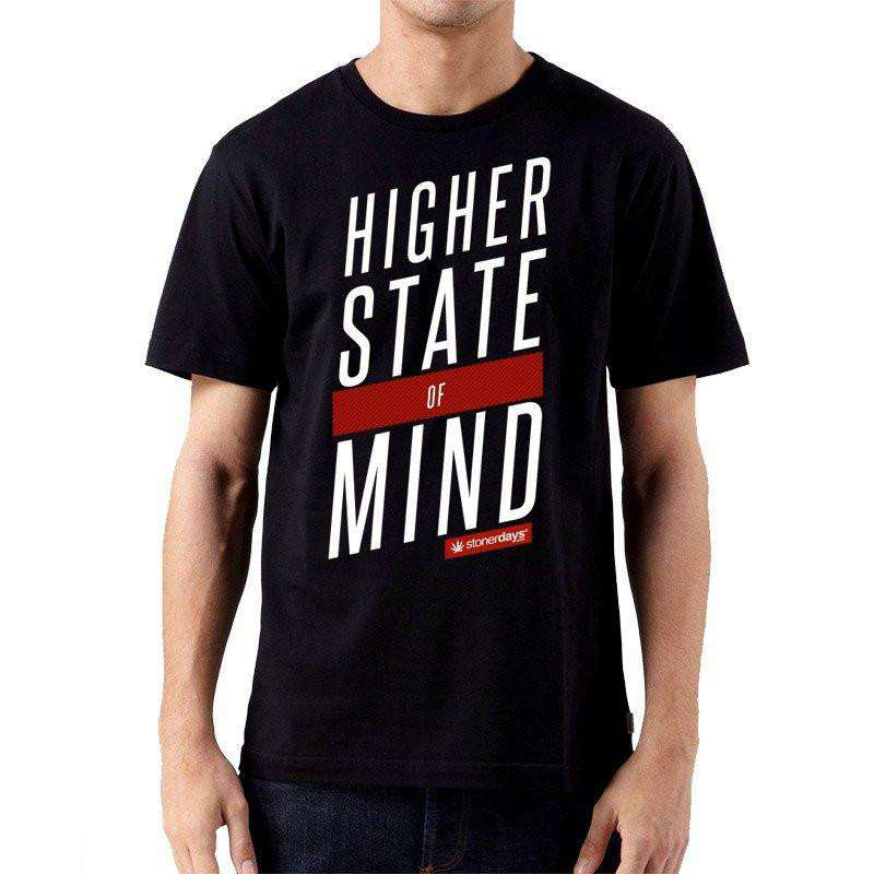 MEN'S HSOM RED & WHITE TEE