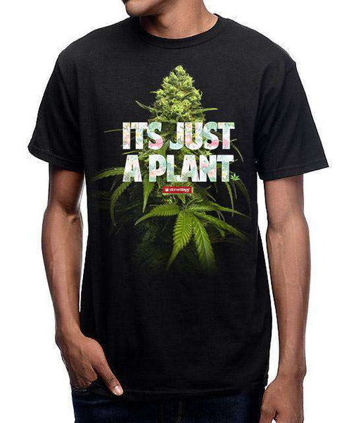MEN'S ITS JUST A PLANT TEE-StonerDays
