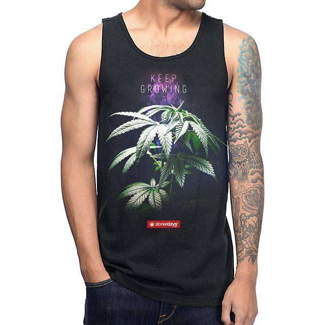 MENS KEEP GROWING TANK-StonerDays