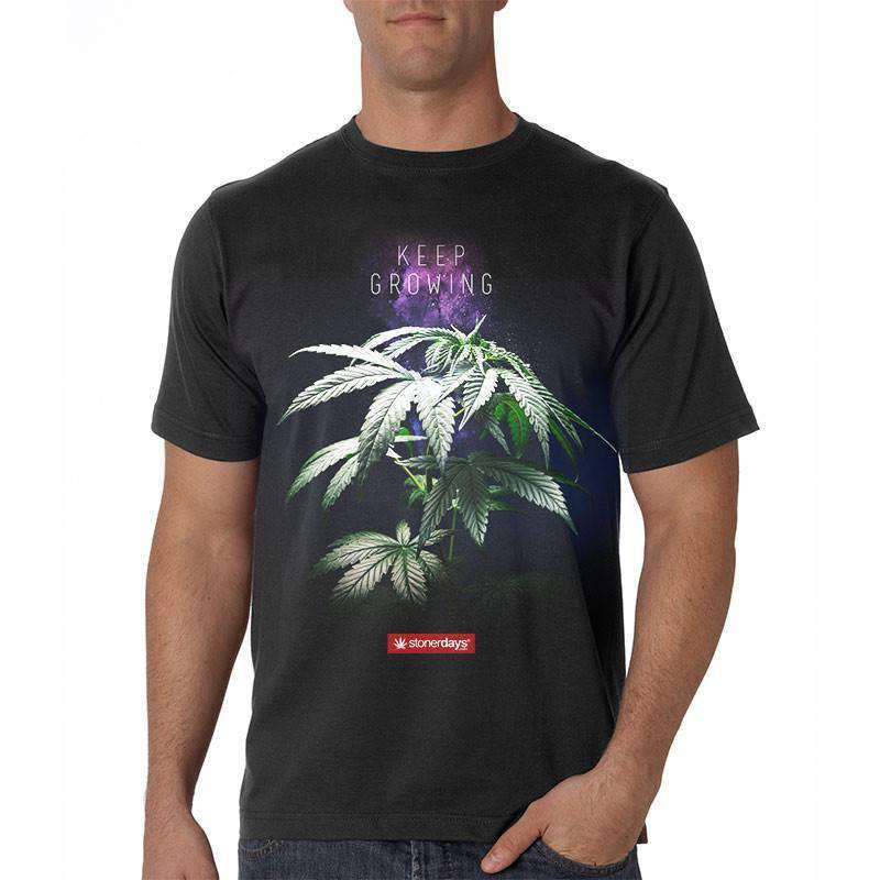 MEN'S KEEP GROWING TEE-StonerDays