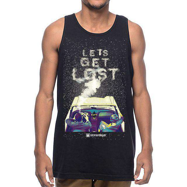 MENS LETS GET LOST TANK