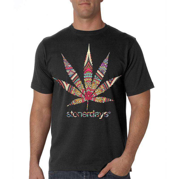 MEN'S MANDALA TEE-StonerDays
