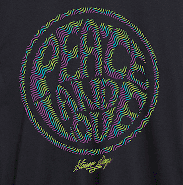 MEN'S PEACE AND LOVE TEE