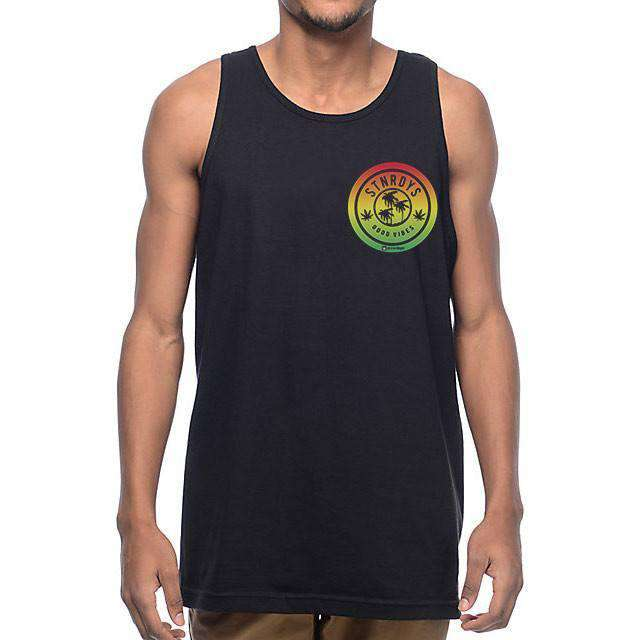 MENS RASTA CHEST TANK