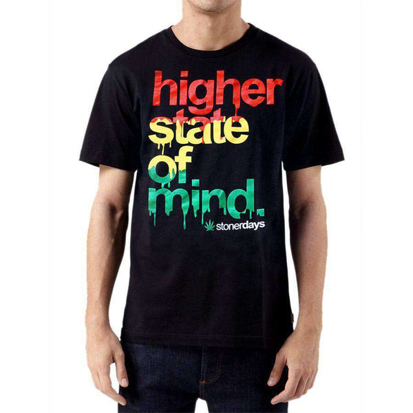 MEN'S RASTA HIGHER STATE OF MIND TEE-StonerDays