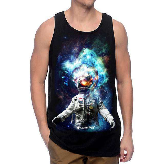 MENS SPACE ODYSSEY TANK