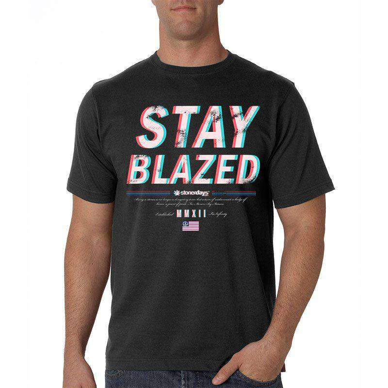 MEN'S STAY BLAZED 3D TEE