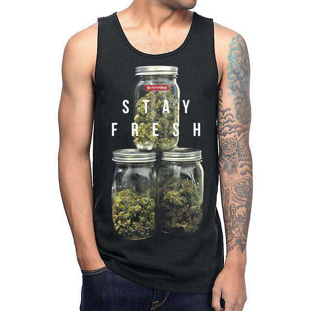 MENS STAY FRESH TANK-StonerDays