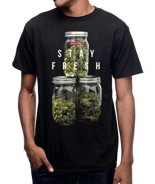 MEN'S STAY FRESH TEE-StonerDays
