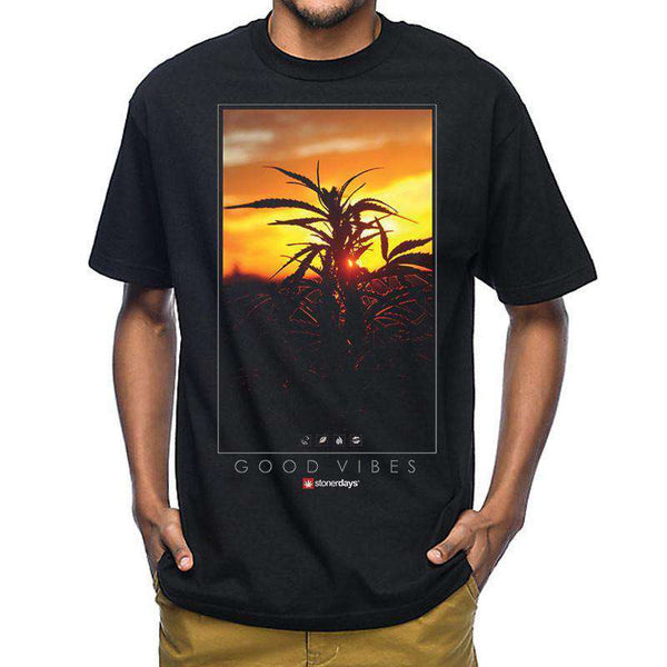 MEN'S SUNSET TEE-StonerDays