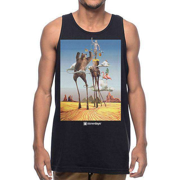 MENS THE TEMPTATIONS OF STONERDAYS TANK-StonerDays