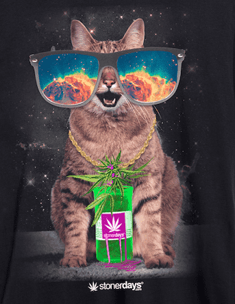 MENS TRIPPY KITTY TANK