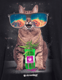 MENS TRIPPY KITTY TEE-StonerDays