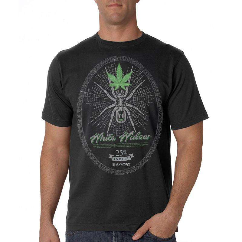 MEN'S WHITE WIDOW TEE-StonerDays