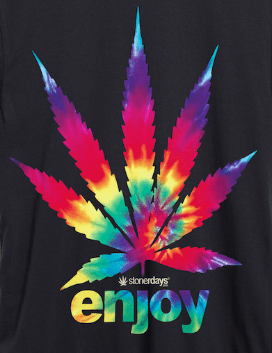 Enjoy Tie Dye Hemp Tee