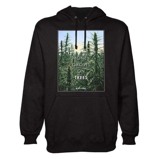 MONEY GROWS ON TREES HOODIE
