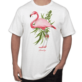 MEN'S PINK FLAMINGO TEE