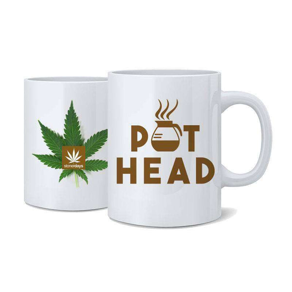 Pot Head Nug Mug-StonerDays