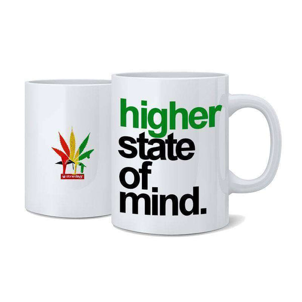 Rasta Higher State Of Mind Nug Mug-StonerDays