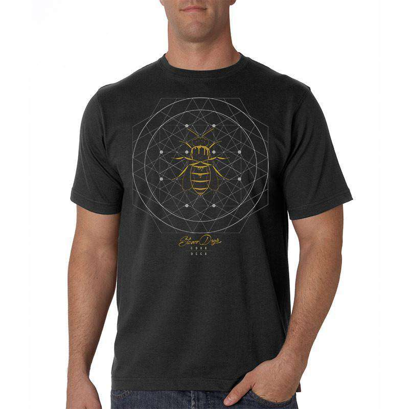 MEN'S SACRED BEEOMETRY TEE
