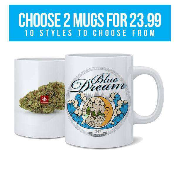 STRAINS NUG MUGS SET (ANY 2 MUGS FOR $24)-StonerDays