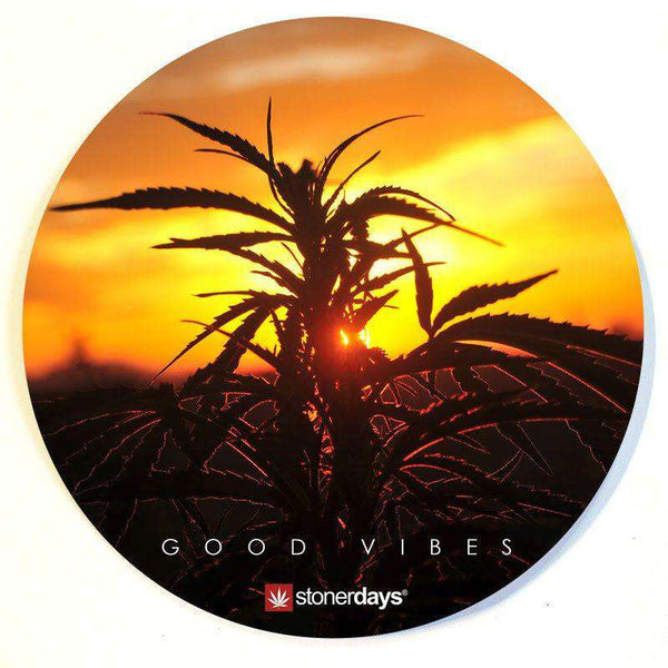SUNSET DAB MAT-StonerDays