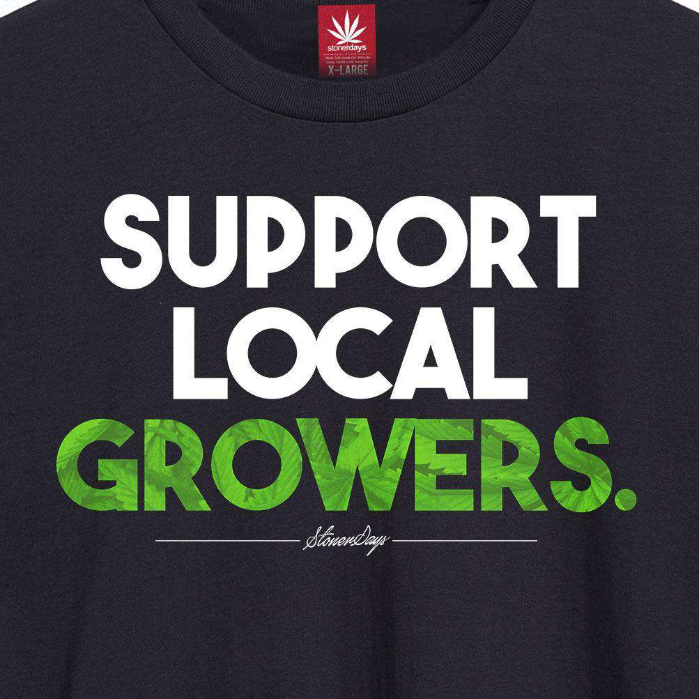 MEN'S SUPPORT LOCAL GROWERS TEE