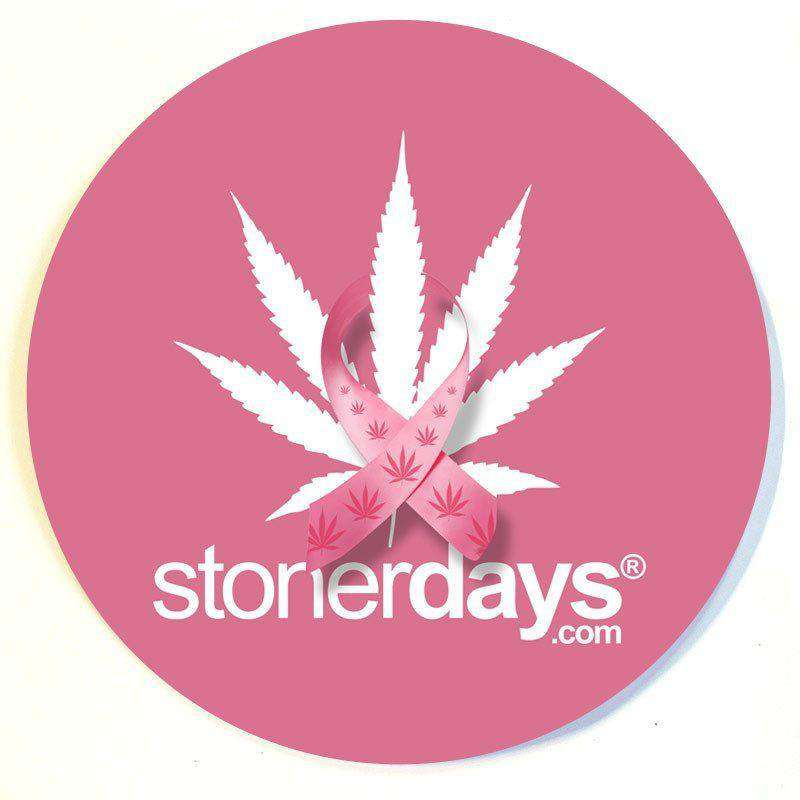THINK PINK DAB MAT-StonerDays