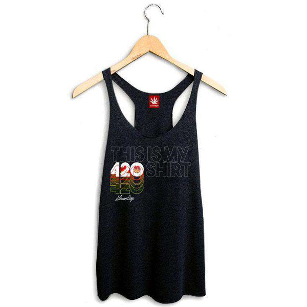 WOMEN'S THIS IS MY 420 SHIRT RACERBACK