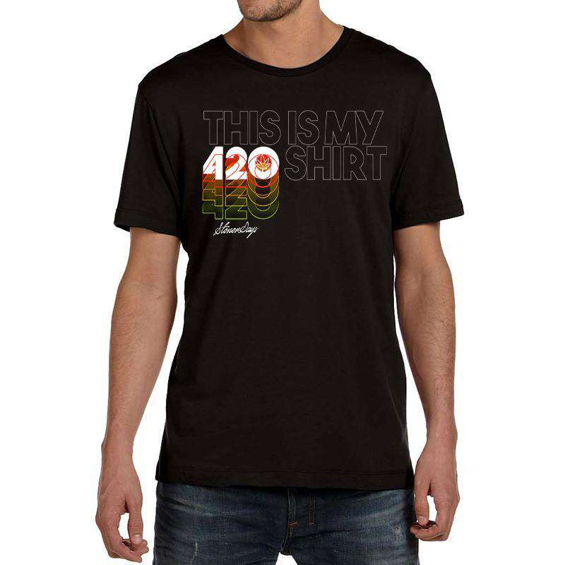 MEN'S THIS IS MY 420 SHIRT TEE