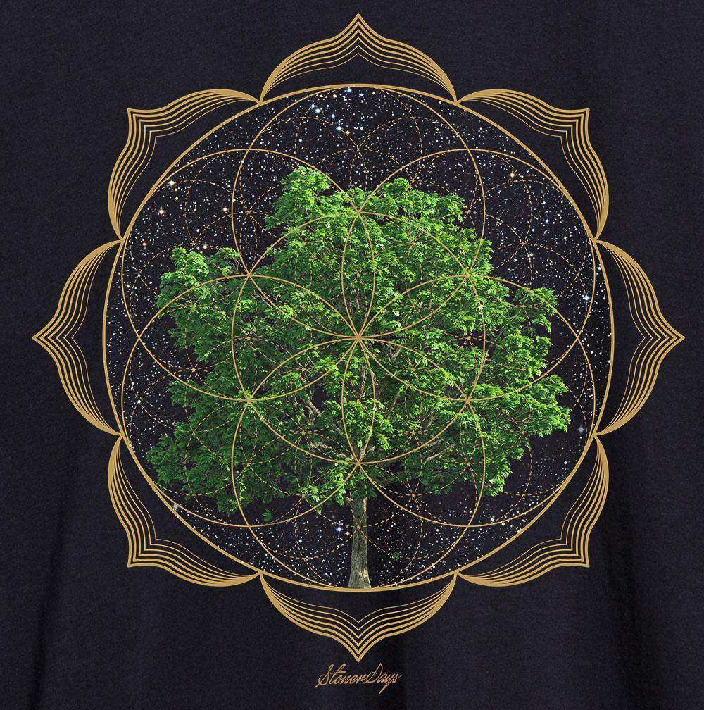 Women's Trippy Trees Racerback