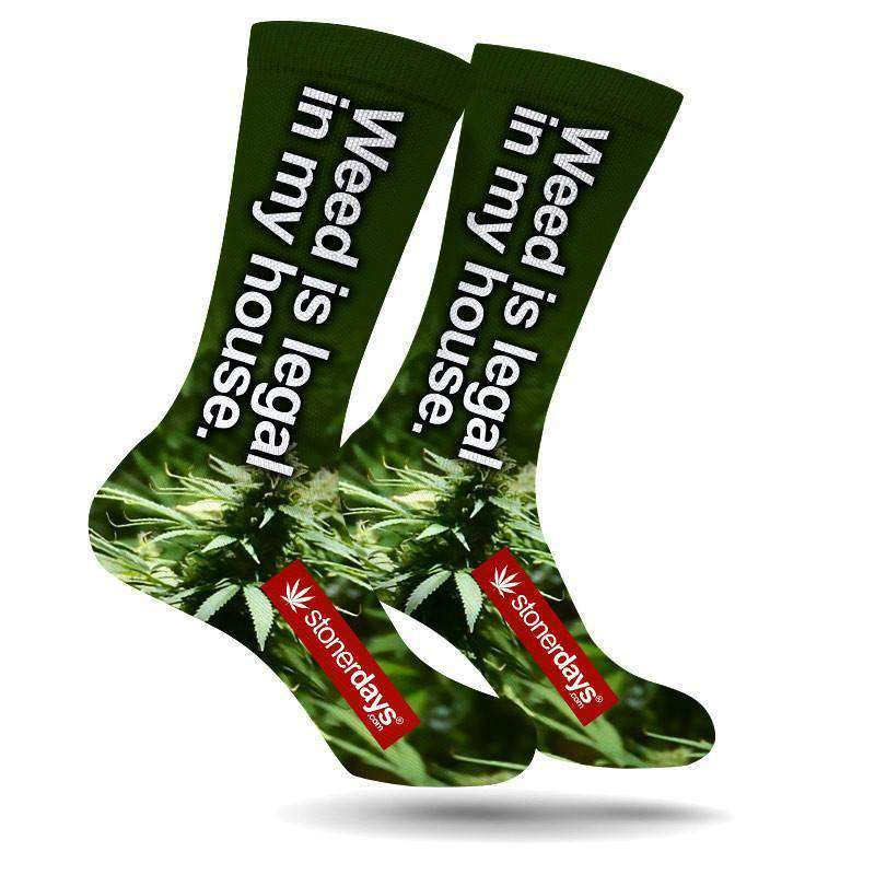 WEED IS LEGAL CREW SOCKS