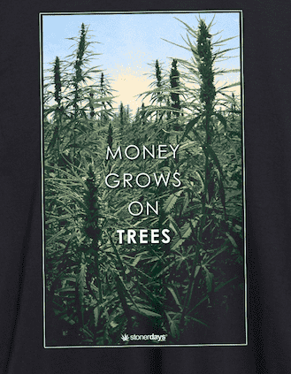 WOMENS MONEY GROWS ON TREES TANK