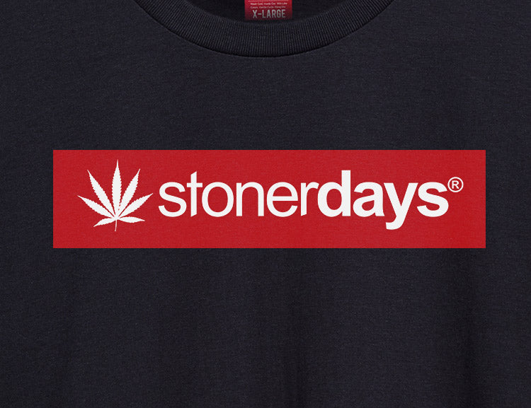 Women's StonerDays Logo Red Racerback