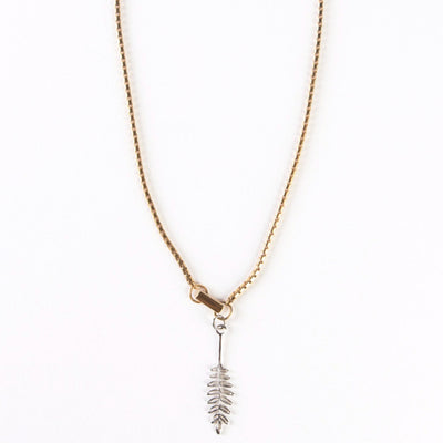 Laurel Leaf Necklace - Monoxide Style - 2