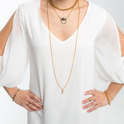 Cove II Necklace - Gold