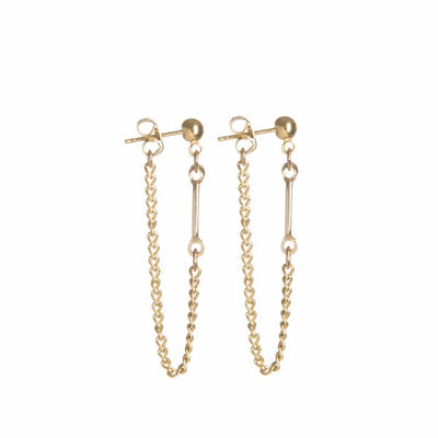 Aya Earrings - Gold - Monoxide Style - 1
