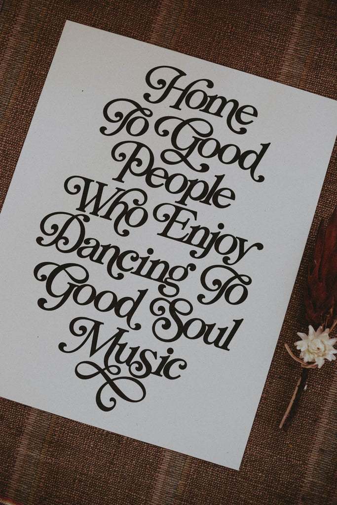 Letterpress: Home to Good People