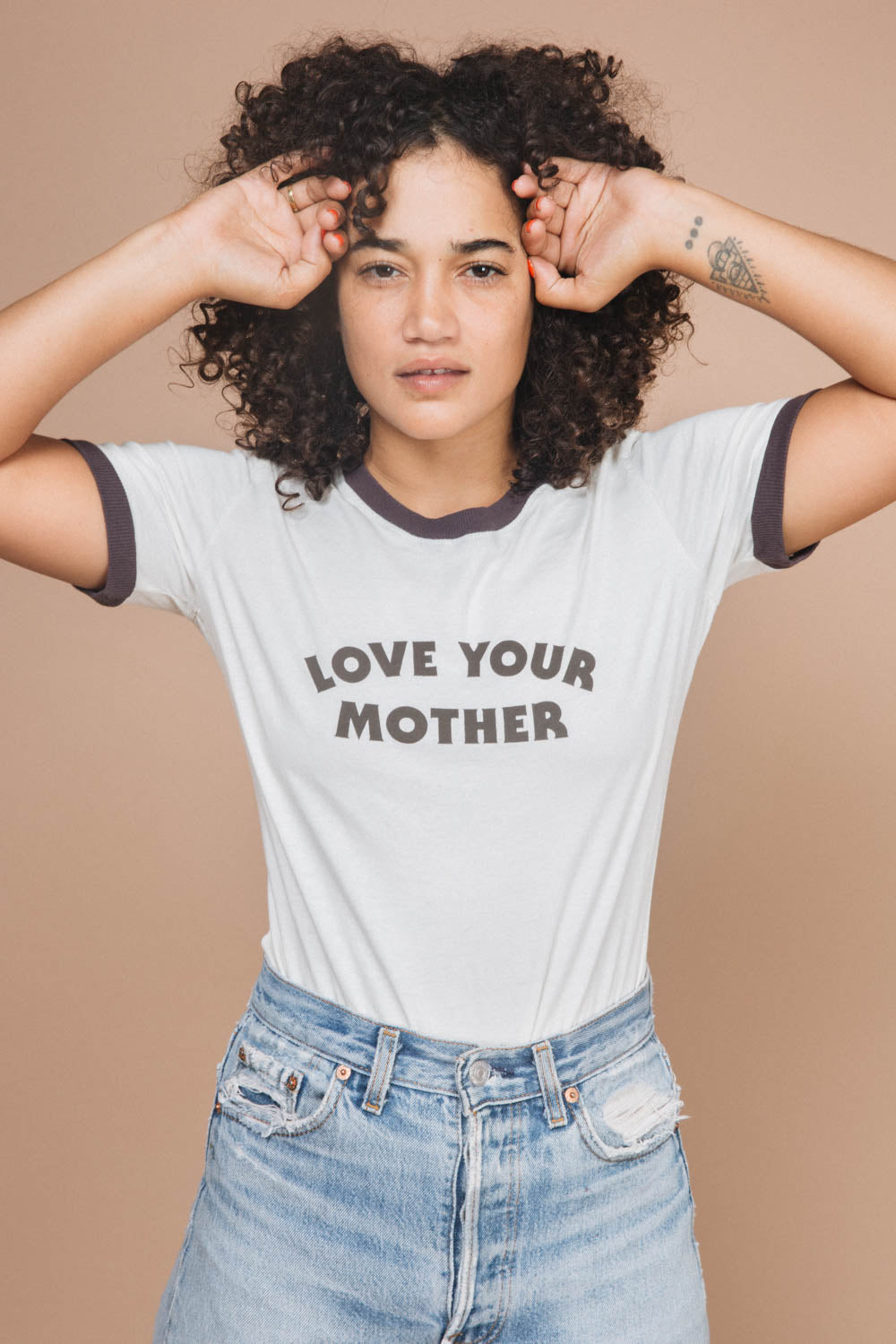 Love Your Mother | Fitted Ringer