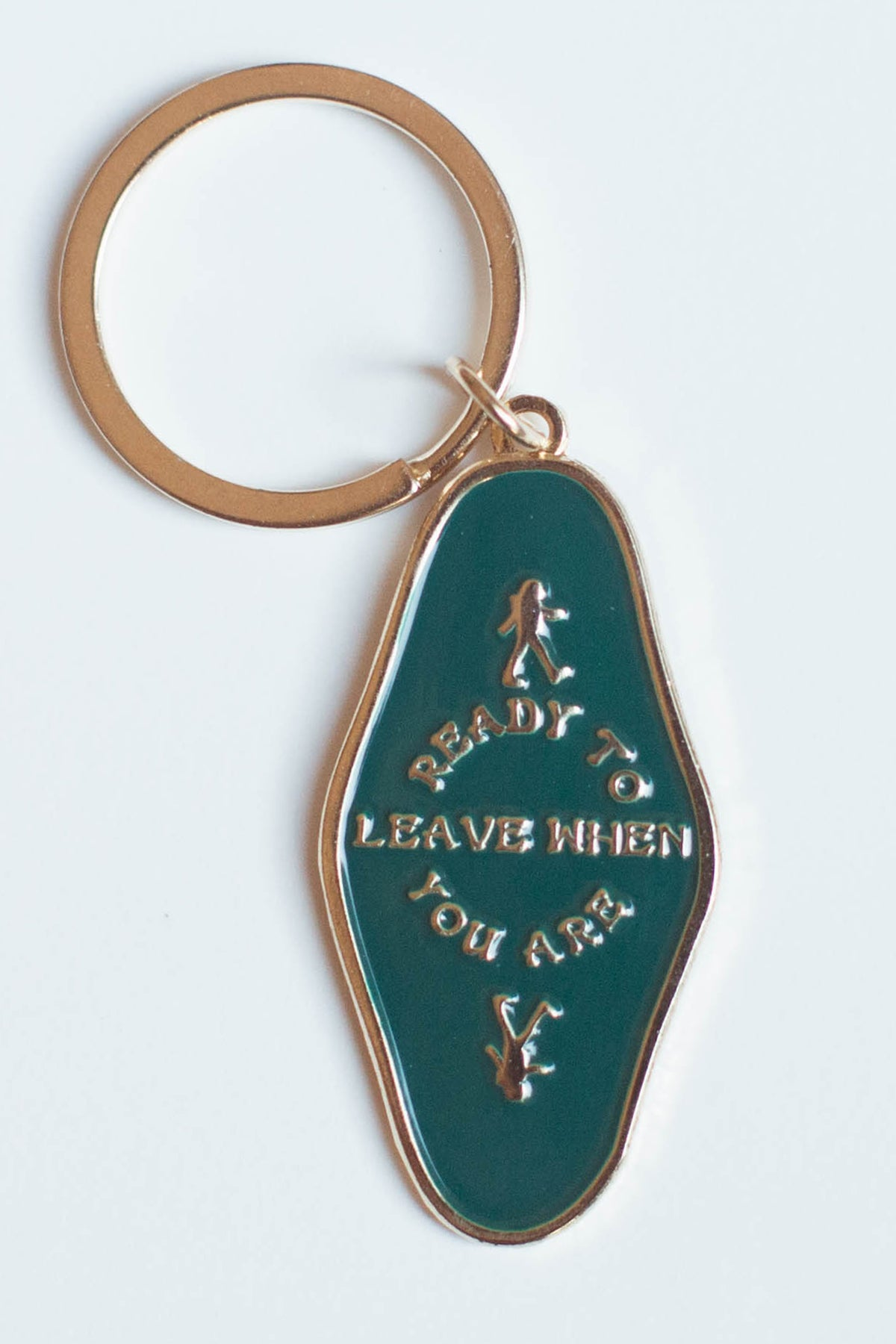 Keychain | Ready to Leave When You Are