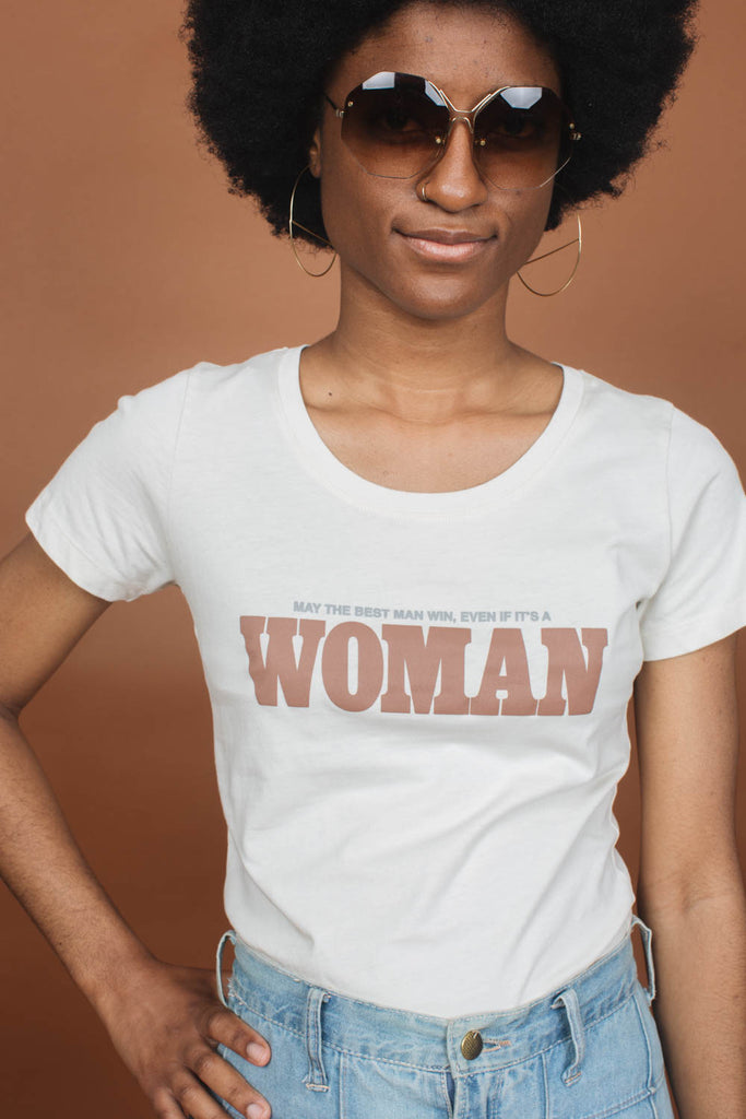 May the Best Man Win, Even if it's a Woman | Scoop Neck