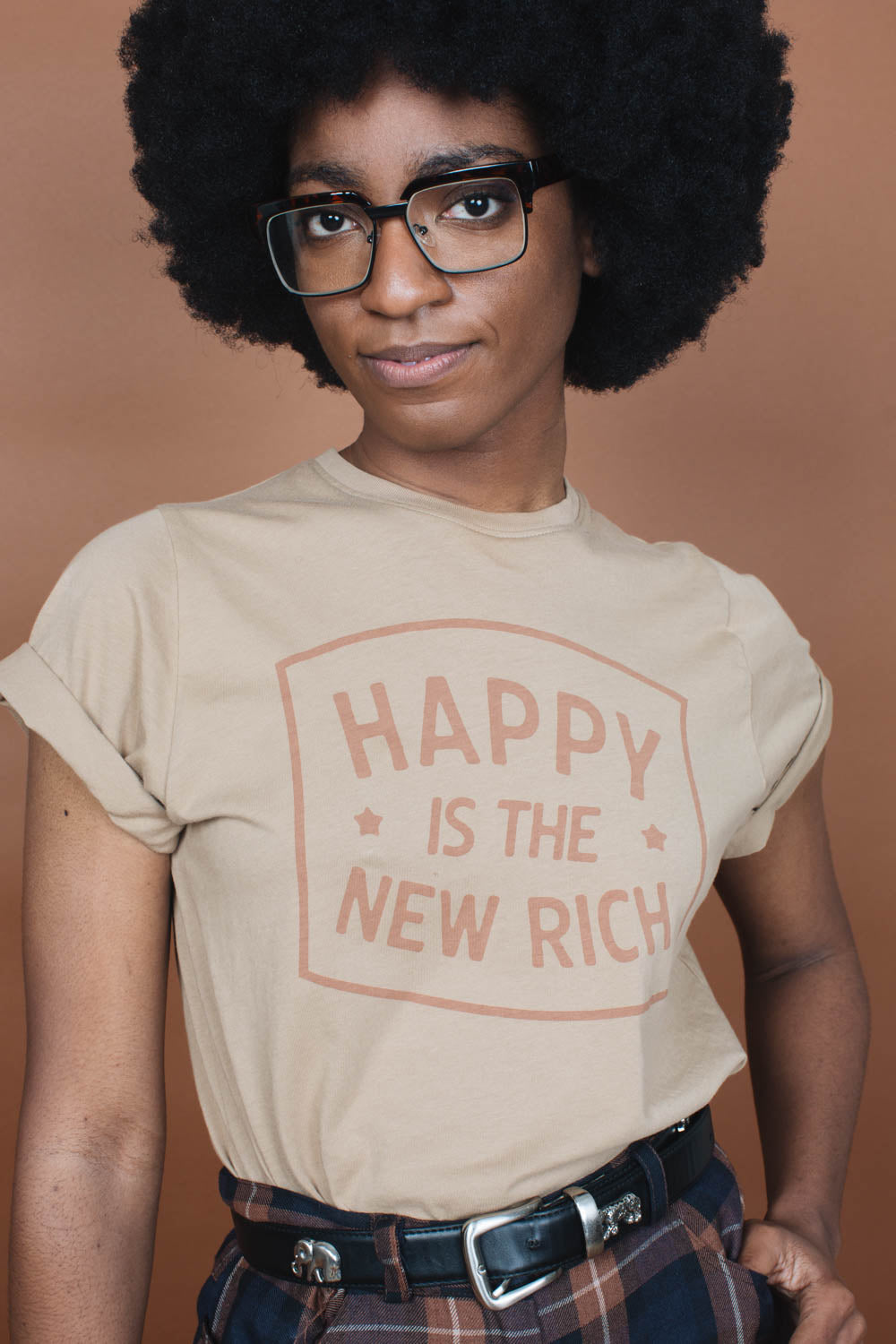 Happy is the New Rich | Unisex