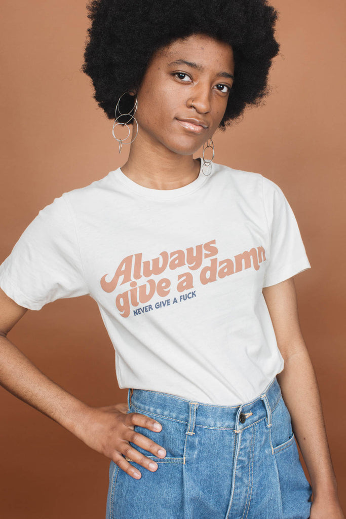 Always Give a Damn | Unisex Crewneck