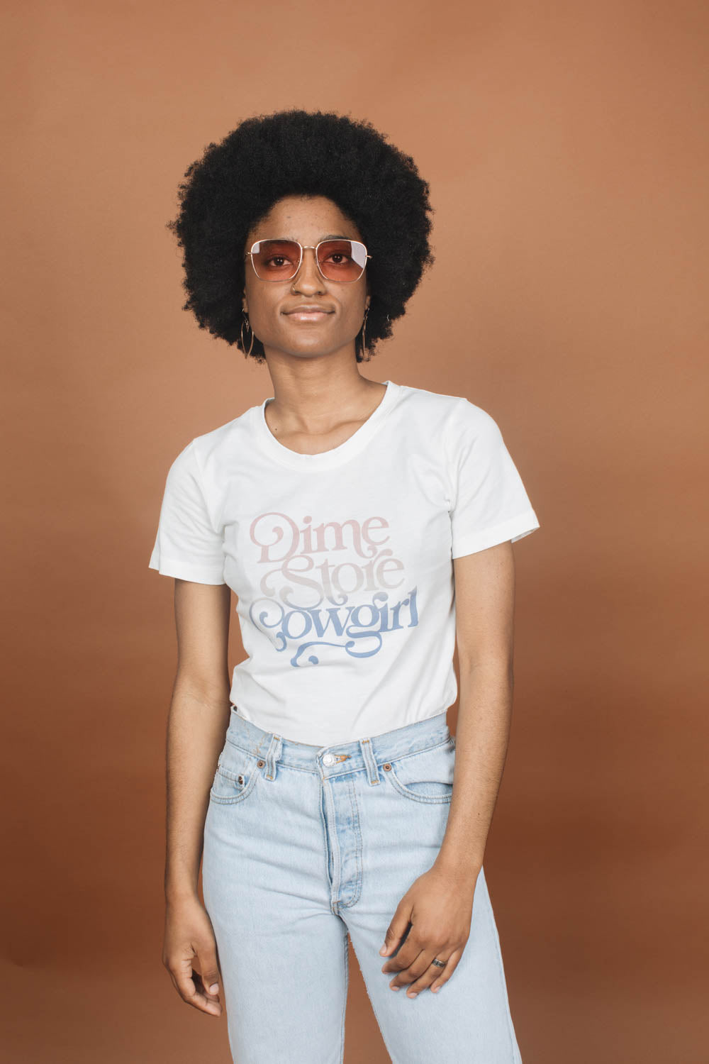 Dime Store Cowgirl | Fitted Crewneck