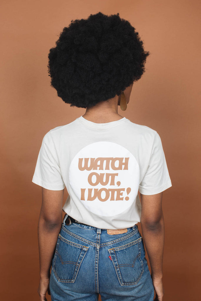 Watch Out, I Vote | Unisex Crewneck