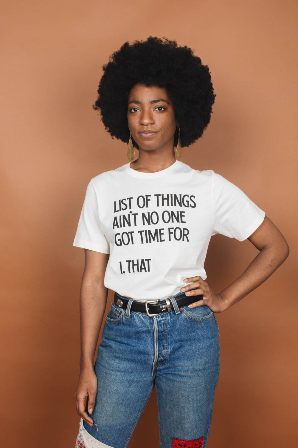 List of Things Ain't No One Got Time For | Unisex Crewneck