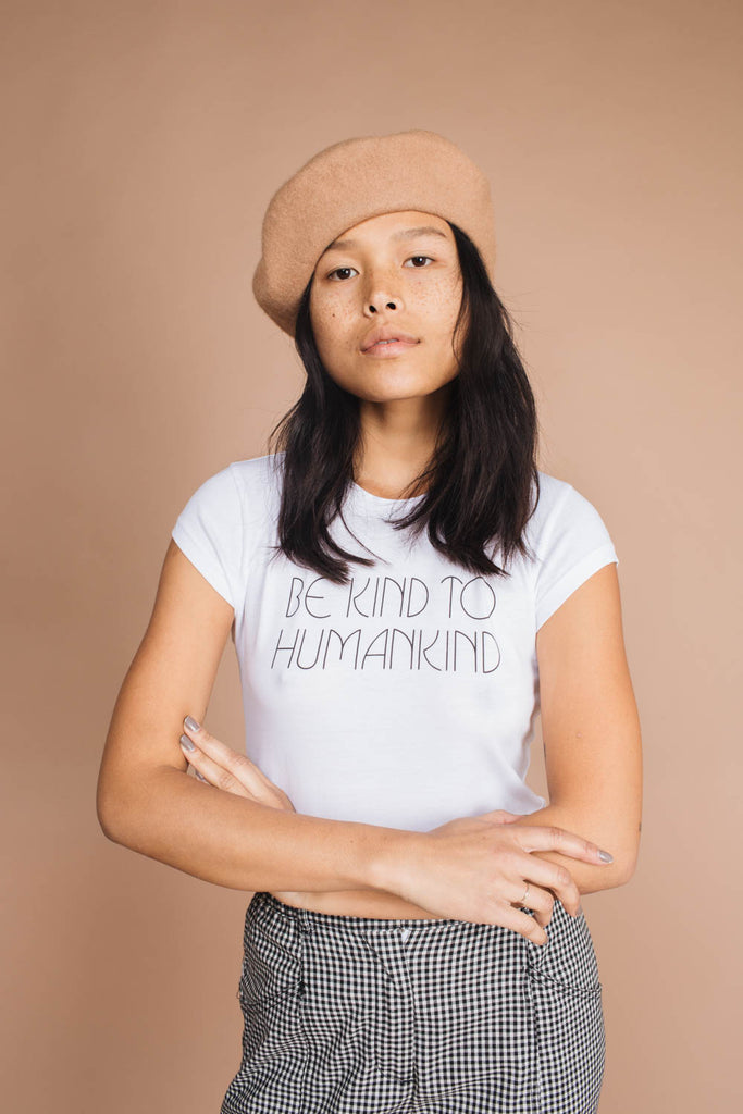 Be Kind To Humankind | Fitted Tee