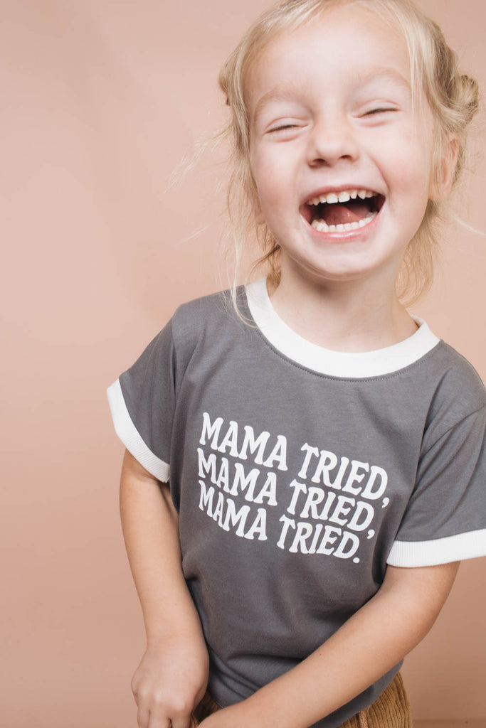 Mama Tried | Ringer Tee