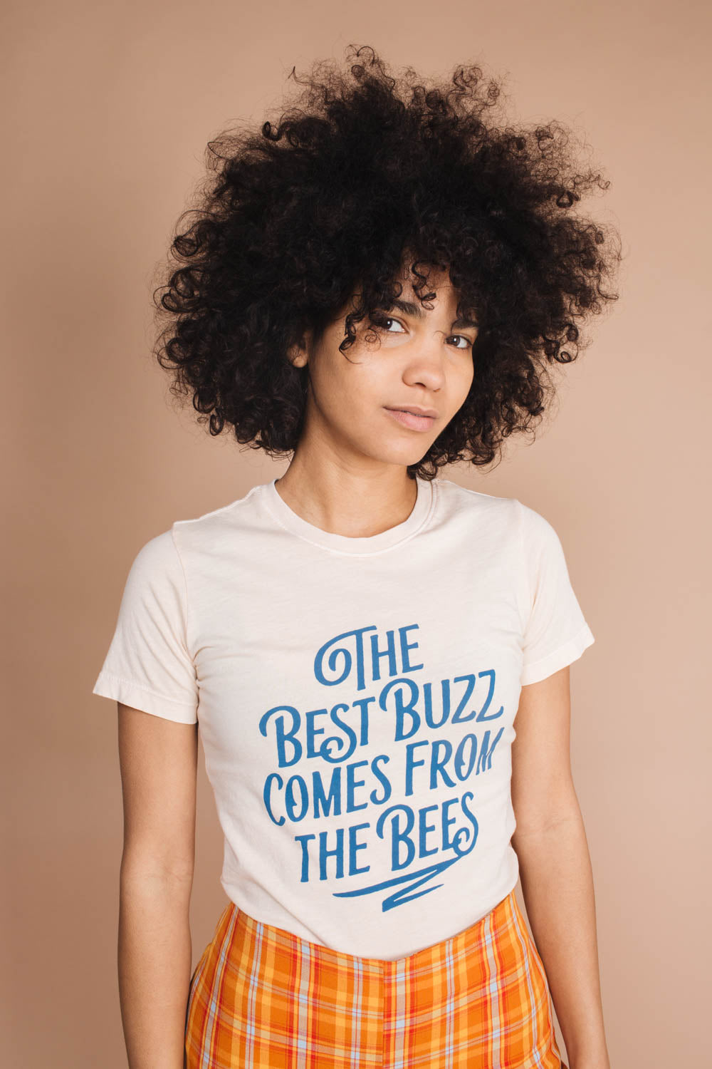 The Best Buzz Comes From The Bees | Fitted Crewneck