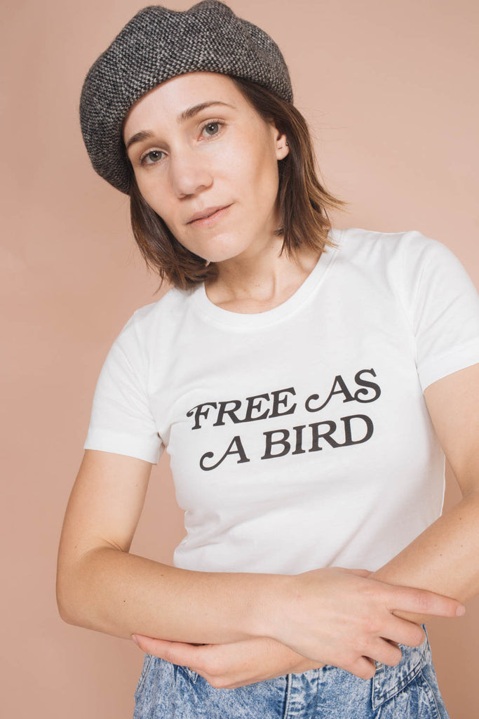 Free As A Bird | Fitted Crewneck | NEW
